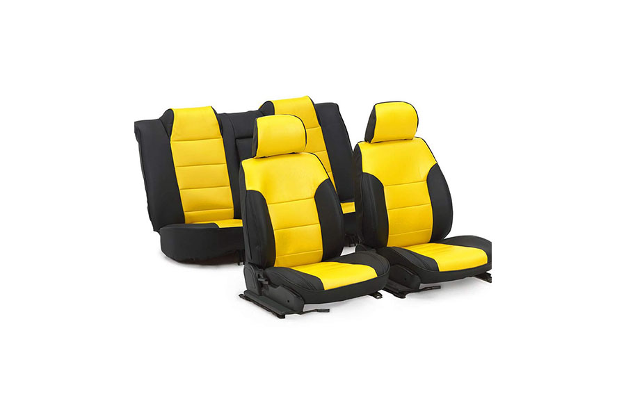 Seat Cover Yellow